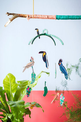 Exotic Birds Mobile