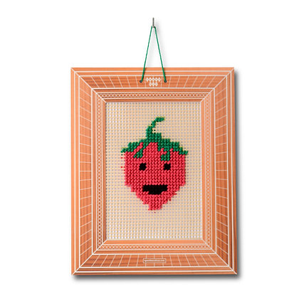 Strawberry Embroidery Kit