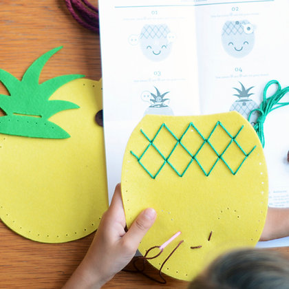 Pinapple Bag -DIY