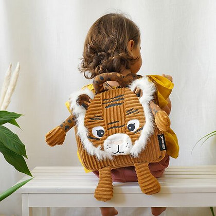 Brown Tiger Backpack