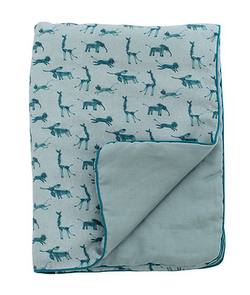 Blue Baby Quilt