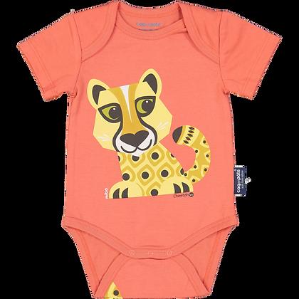 Cheetah Short Sleeve Bodysuit