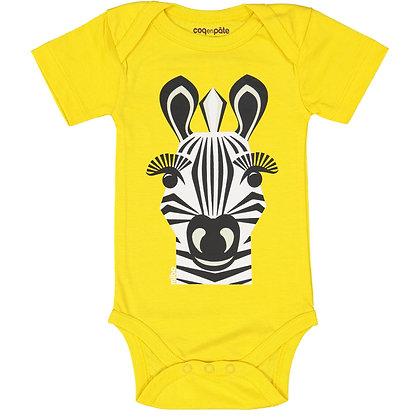 Zebra Sleeve Bodysuit