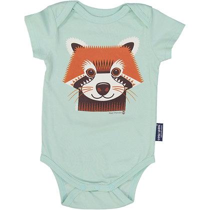 Red Panda Short Sleeve Bodysuit