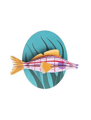 Longnose Fish Wall Decoration