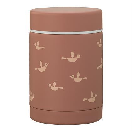 Birds Thermos Food Jar