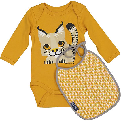 Lynx Longsleeve Bodysuit + Bib