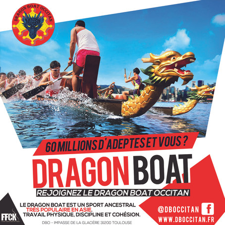 Inscriptions 2020 au Dragon Boat Occitan
