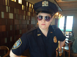 NYC cop in promotional film for TCO