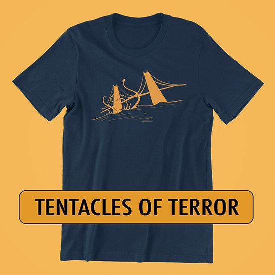 Tentacles of Terror at the Golden Gate Bridge