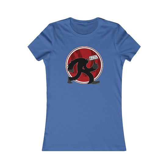 Sasquatch Says Stay Back on this Women's Favorite Tee