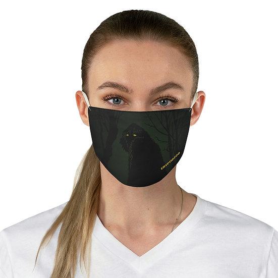 Eyeshine Sasquatch Green  Fabric Face Mask