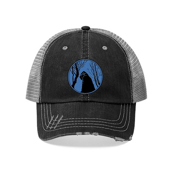 A Yeti under a Himalayan Moon Unisex Trucker Hat