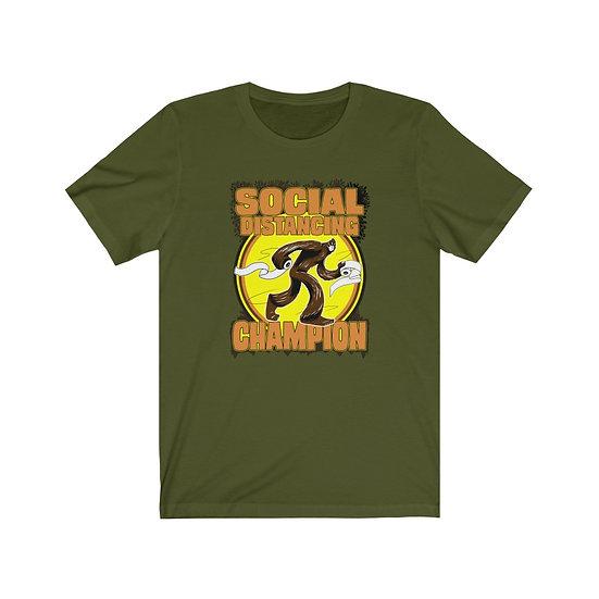 Bigfoot the Social Distancing Champion