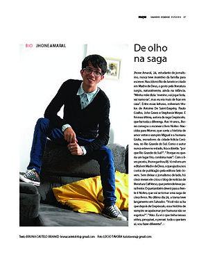 Jhone Amaral na Revista Muito