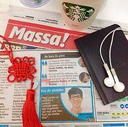 Jhone Amaral jornal Massa