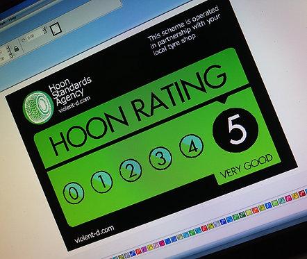Hoon rating 5*