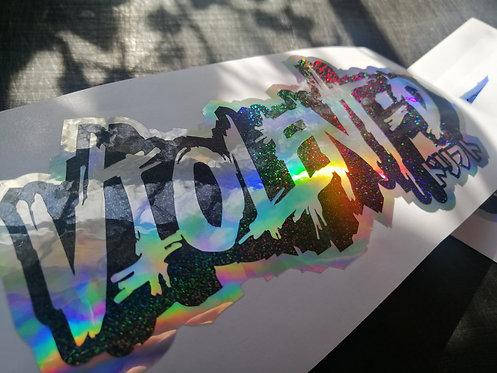 VD oilslick/holographic black