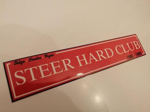 Steer hard club