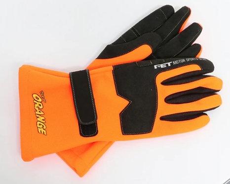 Authentic Team orange (Ebisu) driving gloves comp