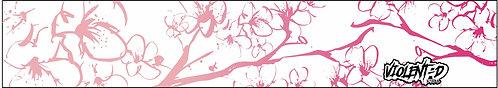 hand ink cherry blossom visor