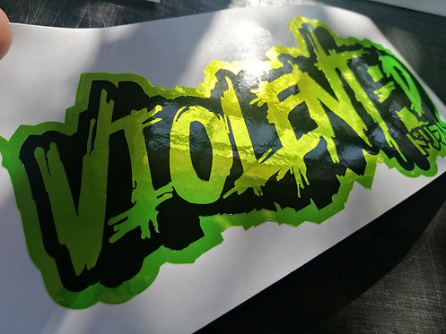 VD yellow chrome/black