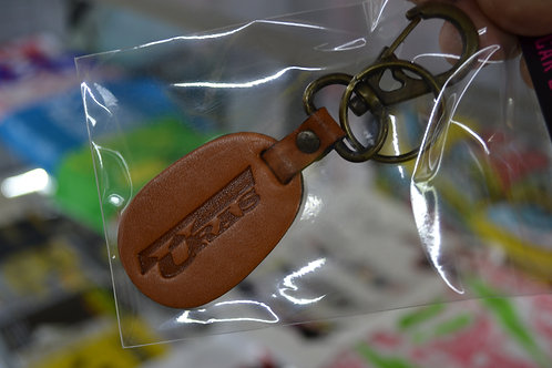 URAS leather key ring