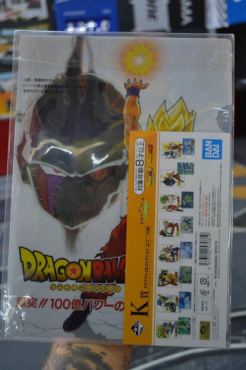 dragon ball z documents folder from 7eleven in japan