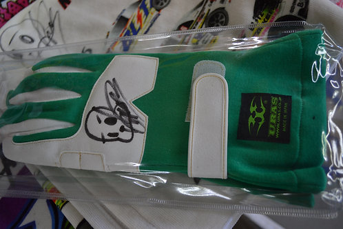 signed uras driving gloves