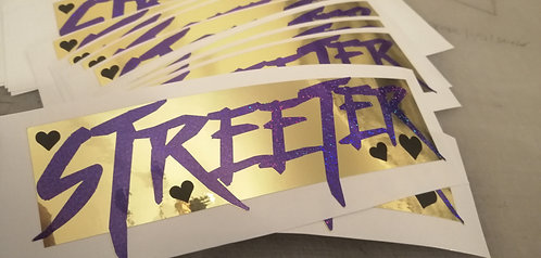 Streeter (mirror gold/purple holographic)
