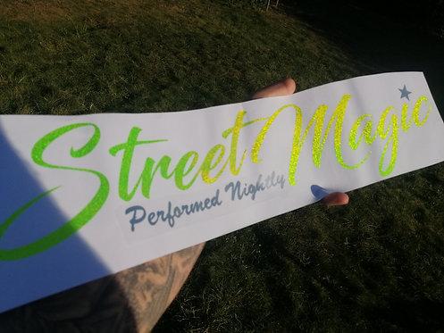 Street magic (performed nightly) 600mm long