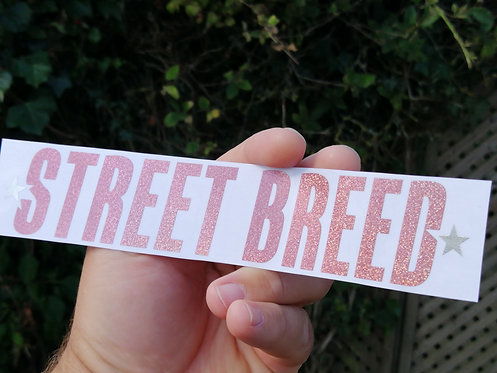 Street breed style1 pink holographic