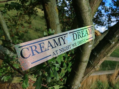 Creamy dreamy holographic
