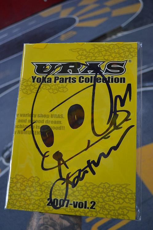 signed 2007 URAS parts catalogue