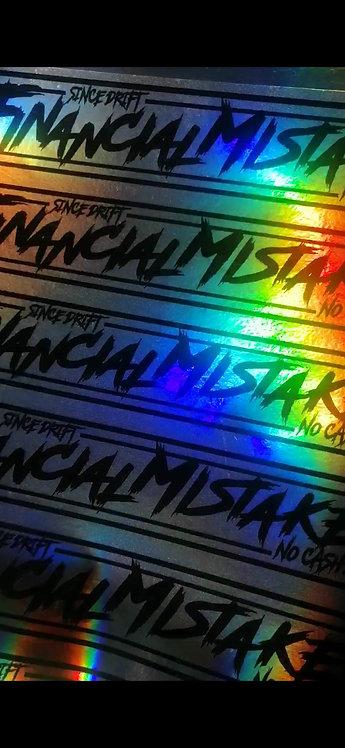 Financial mistake spectrum