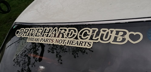 Drive hards club break parts not hearts