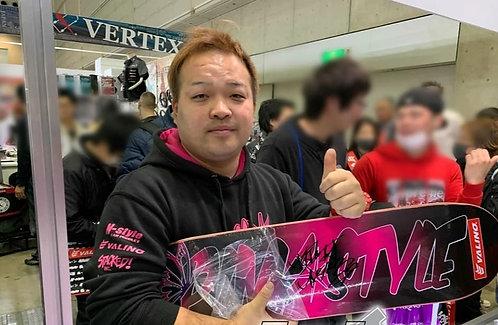 Naoki Nakamura signed by the legend himself at Tokyo auto salon