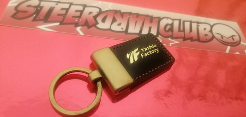 Yashio factory key ring. Original old stock