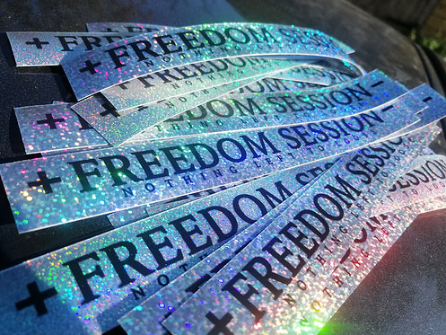 Freedom session holographic