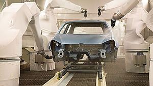 Automotive protective robot cover