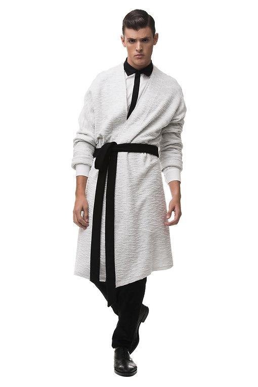 Ariel_Bassan_Minimal_Menswear_Wrap_Kimono_Cardigan