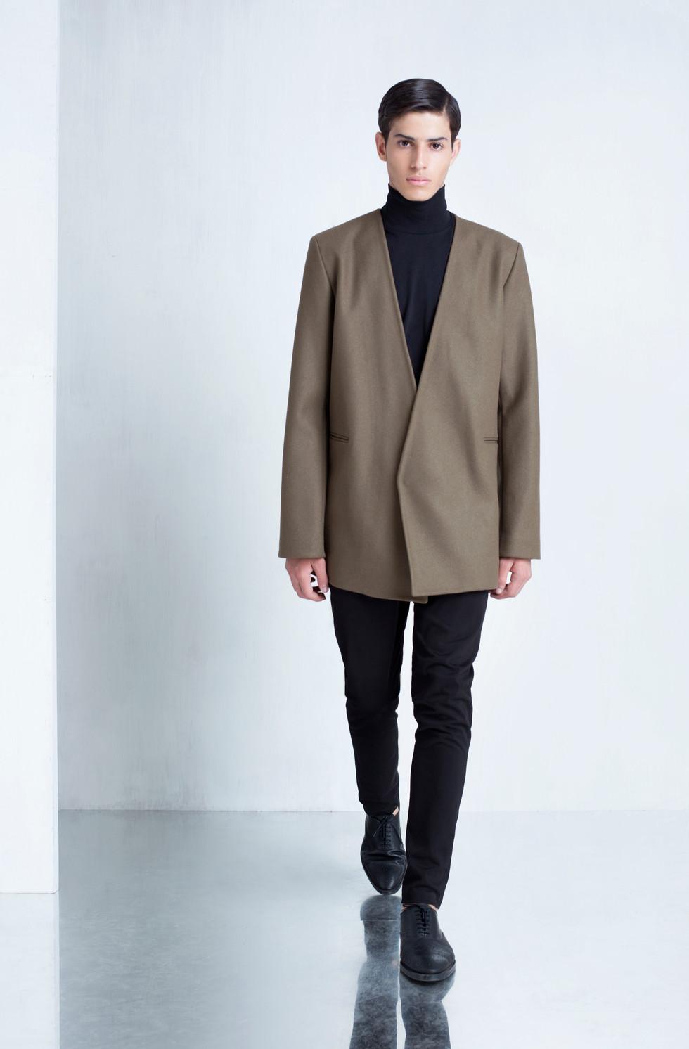 Ariel_Bassan_Minimal_Menswear_AW_LookBook_Lapelless_Wool_Coat