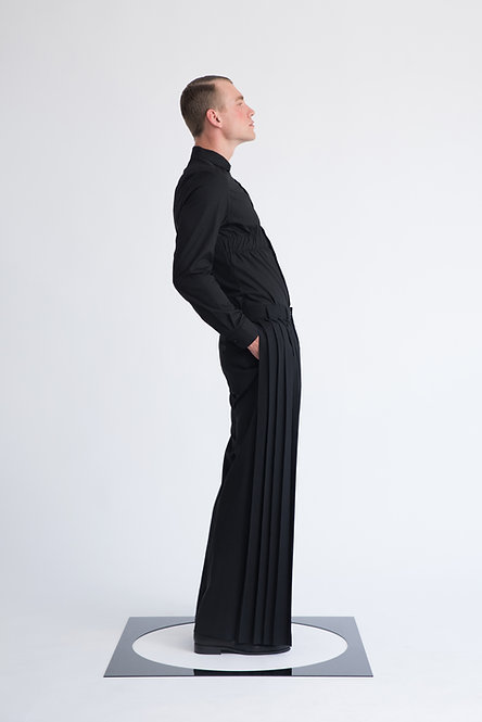 Pleated Pants [Made To Order]
