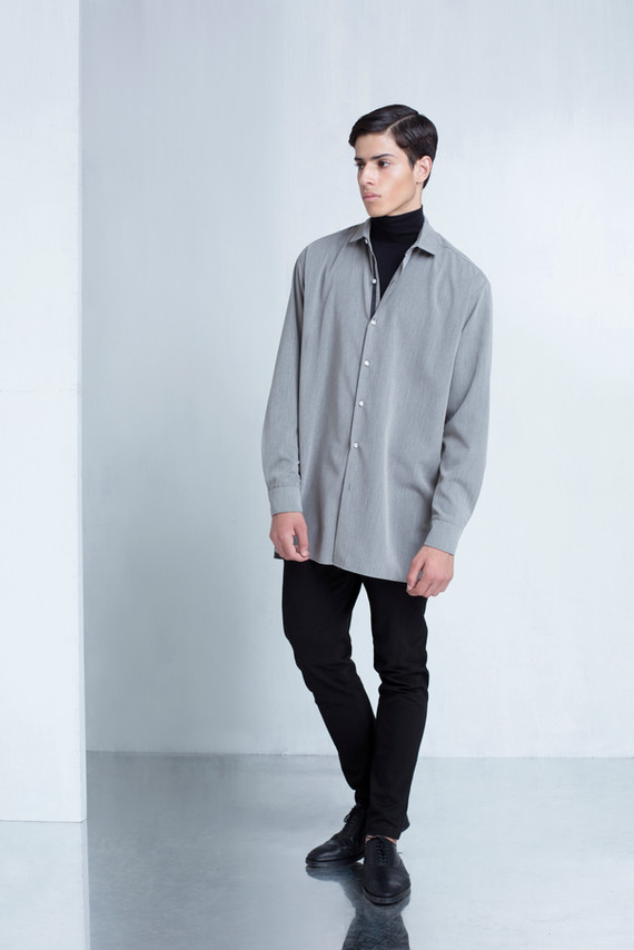 Ariel_Bassan_Minimal_Menswear_AW_LookBook_Oversized_Shirt