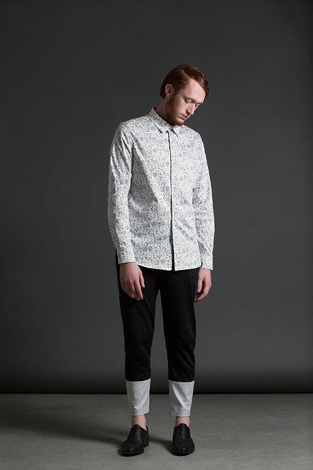 Printed Shirt / b•w
