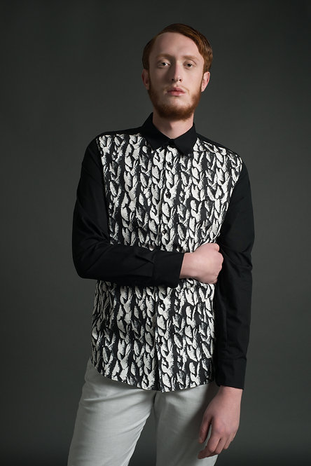 Printed Shirt / Knit Print