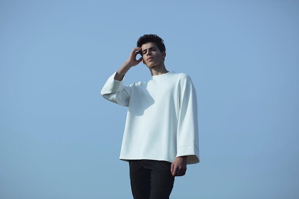 Ariel_Bassan_AW_Campaign_Minimal_Menswear_Modern_Oversized_Sweatshirt_Wide