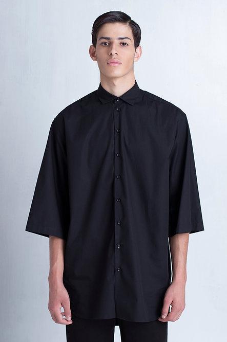 ¾ Sleeve Oversized Shirt