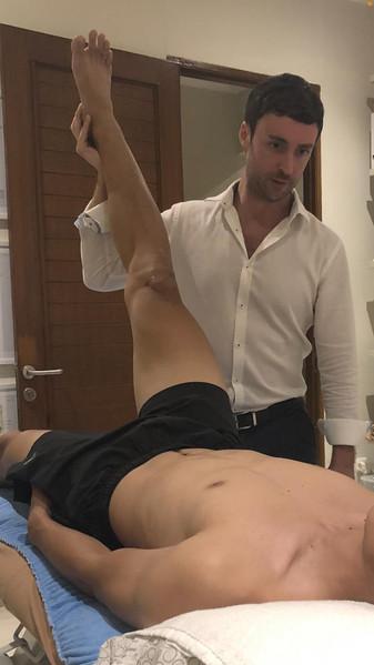 Niall Wafer Osteopath Singapore