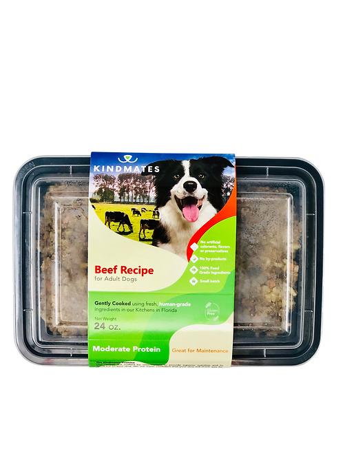 Beef Recipe for Adult Dogs - Trial Pack